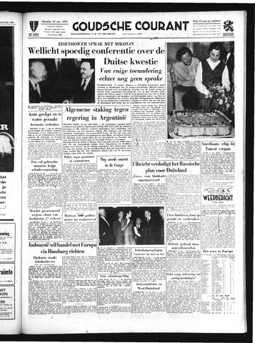 Goudsche Courant 1959-01-19