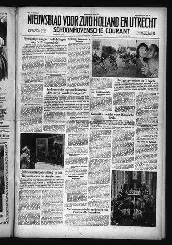 Schoonhovensche Courant 1958-06-30