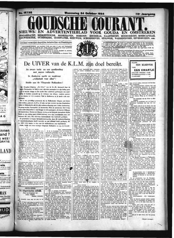 Goudsche Courant 1934-10-24