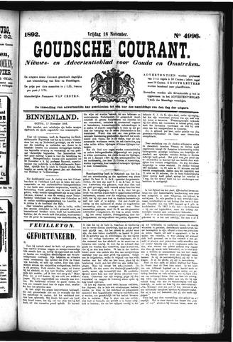 Goudsche Courant 1892-11-18