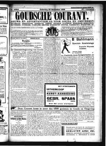 Goudsche Courant 1928-12-22