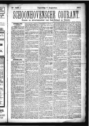 Schoonhovensche Courant 1913-08-02