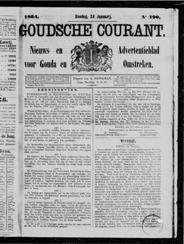 Goudsche Courant 1864-01-24