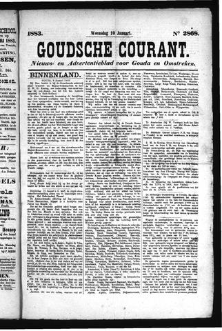 Goudsche Courant 1883-01-10