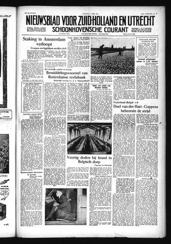 Schoonhovensche Courant 1955-04-04
