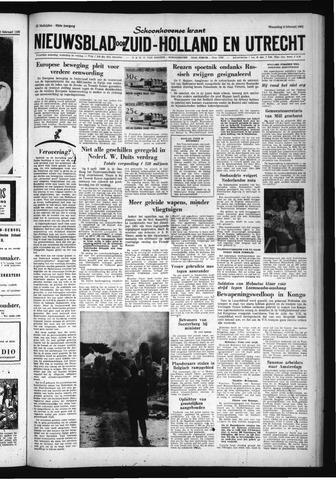 Schoonhovensche Courant 1961-02-08