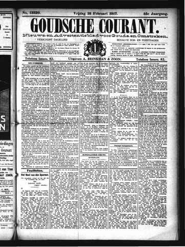 Goudsche Courant 1917-02-16