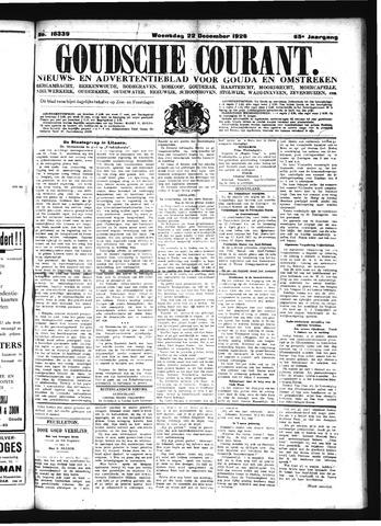 Goudsche Courant 1926-12-22