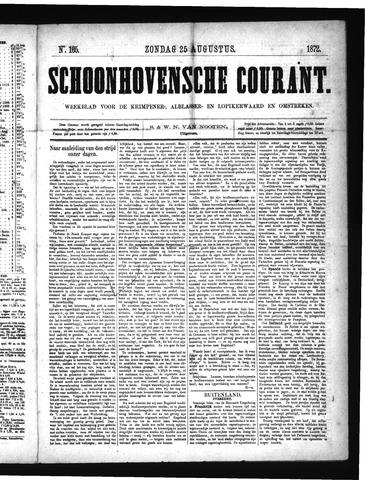 Schoonhovensche Courant 1872-08-25
