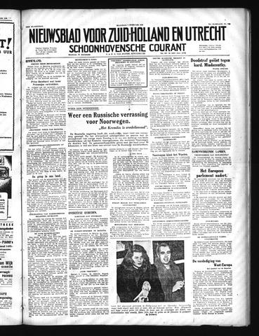 Schoonhovensche Courant 1949-02-07