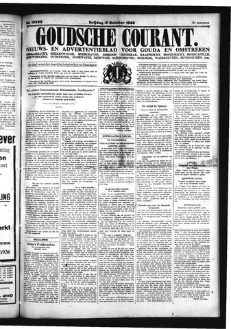 Goudsche Courant 1936-10-09