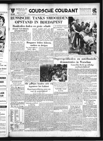 Goudsche Courant 1956-10-25