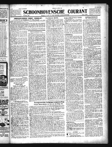 Schoonhovensche Courant 1943-06-29
