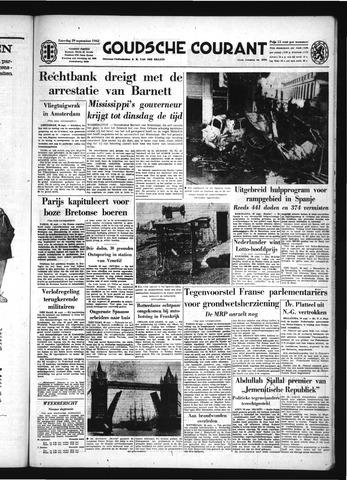 Goudsche Courant 1962-09-29