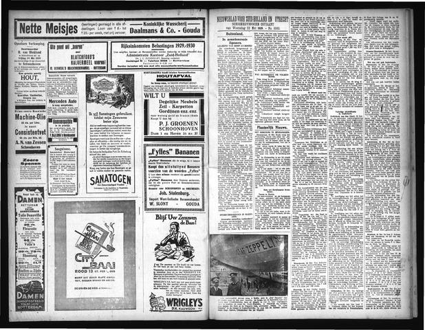 Schoonhovensche Courant 1929-05-22