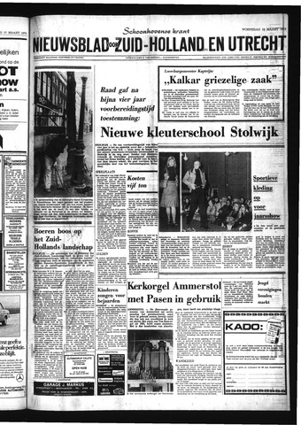 Schoonhovensche Courant 1975-03-19