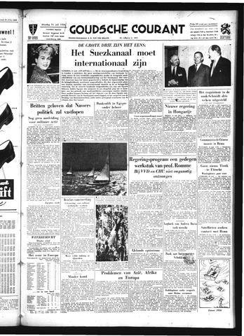 Goudsche Courant 1956-07-31