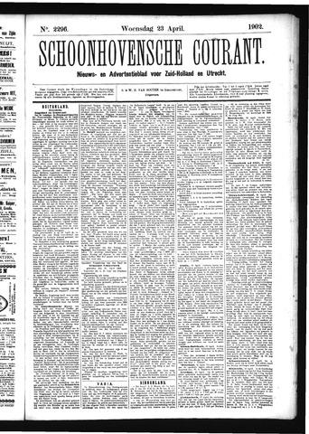 Schoonhovensche Courant 1902-04-23