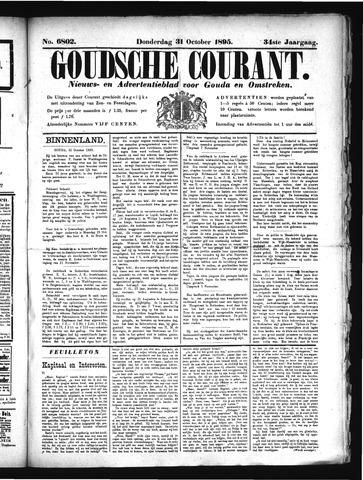 Goudsche Courant 1895-10-31