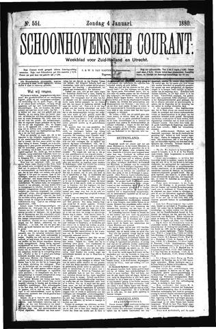 Schoonhovensche Courant 1880-01-04