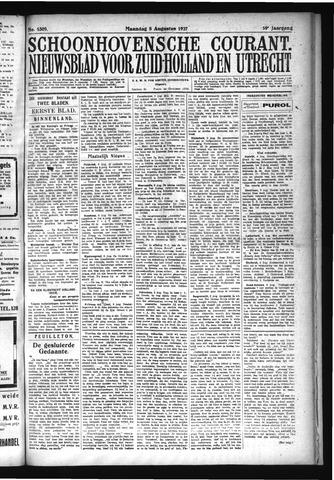 Schoonhovensche Courant 1927-08-08