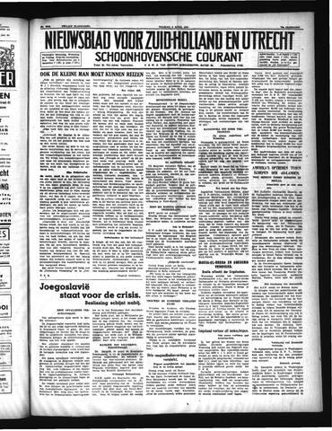 Schoonhovensche Courant 1941-04-04