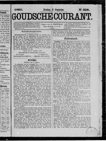 Goudsche Courant 1865-08-06