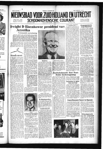 Schoonhovensche Courant 1952-11-05