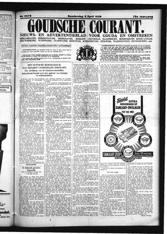 Goudsche Courant 1936-04-02