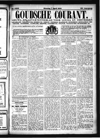 Goudsche Courant 1925-04-07