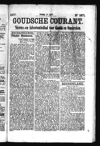 Goudsche Courant 1877-04-15