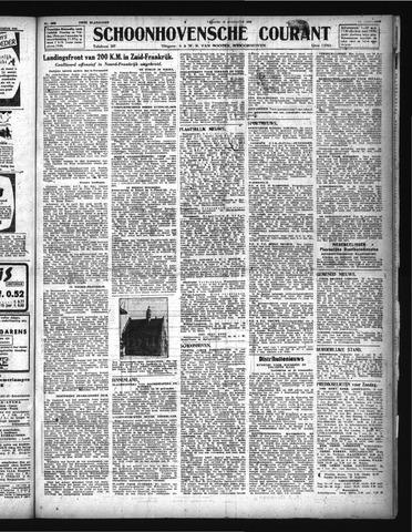 Schoonhovensche Courant 1944-08-18
