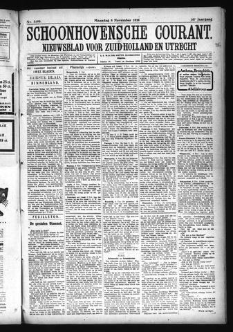 Schoonhovensche Courant 1926-11-08
