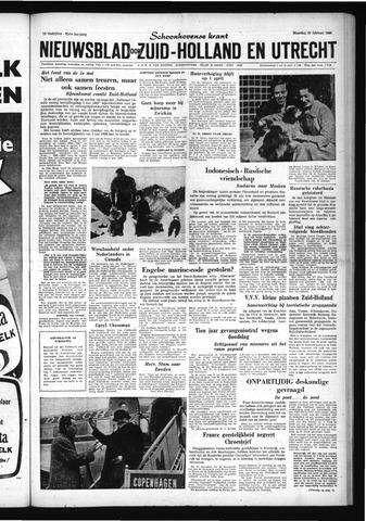 Schoonhovensche Courant 1960-02-29