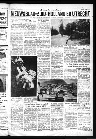 Schoonhovensche Courant 1962-04-16