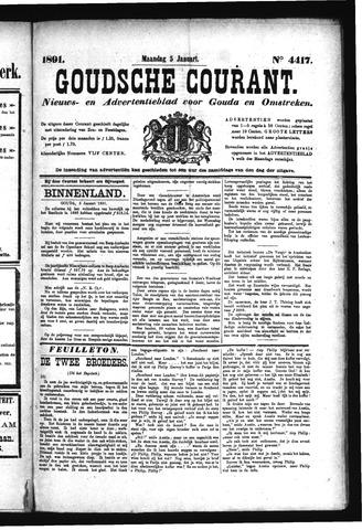 Goudsche Courant 1891-01-05