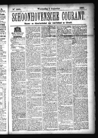 Schoonhovensche Courant 1897-08-04