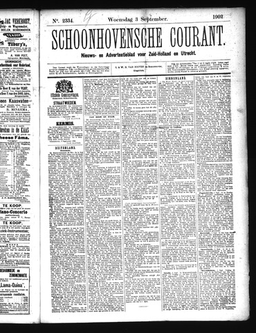 Schoonhovensche Courant 1902-09-03