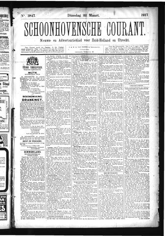 Schoonhovensche Courant 1917-03-20