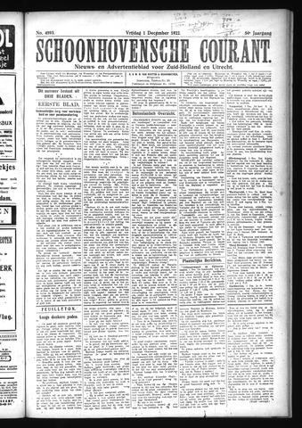 Schoonhovensche Courant 1922-12-01