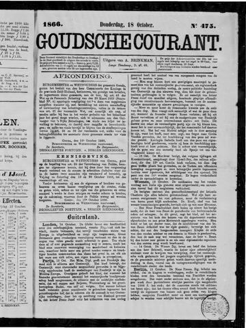 Goudsche Courant 1866-10-18