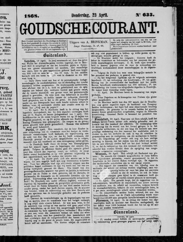 Goudsche Courant 1868-04-23
