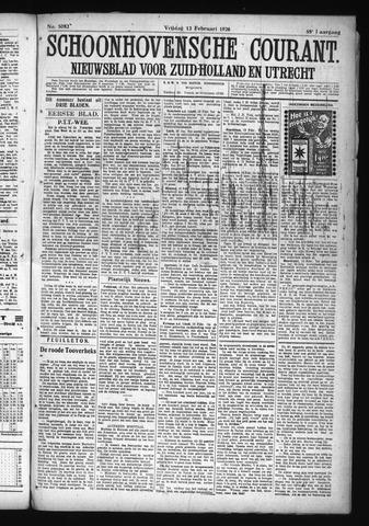Schoonhovensche Courant 1926-02-12