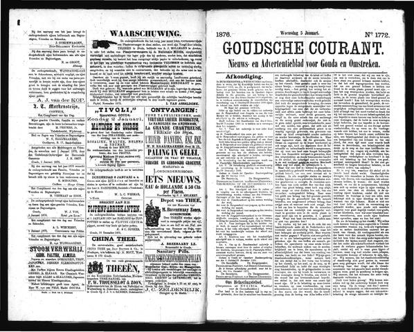 Goudsche Courant 1876