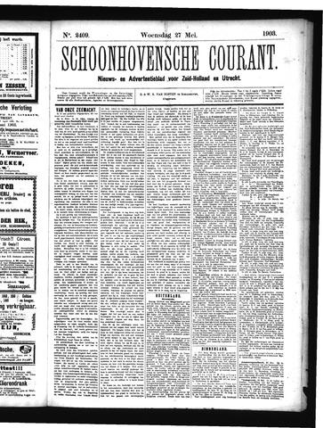 Schoonhovensche Courant 1903-05-27