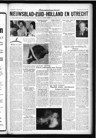 Schoonhovensche Courant 1960-11-02