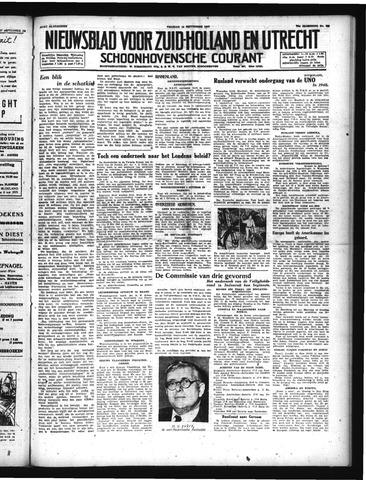 Schoonhovensche Courant 1947-09-19
