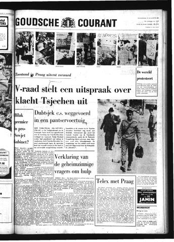 Goudsche Courant 1968-08-22