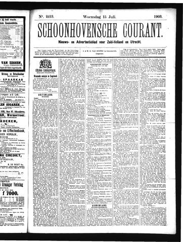 Schoonhovensche Courant 1903-07-15