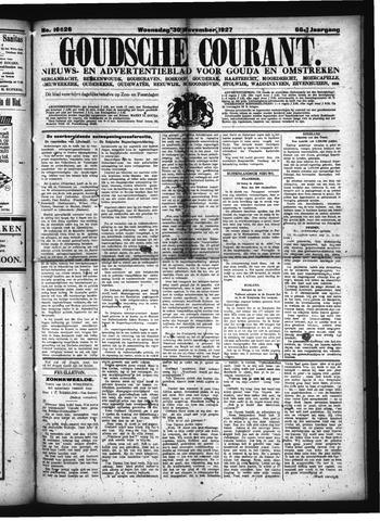 Goudsche Courant 1927-11-30